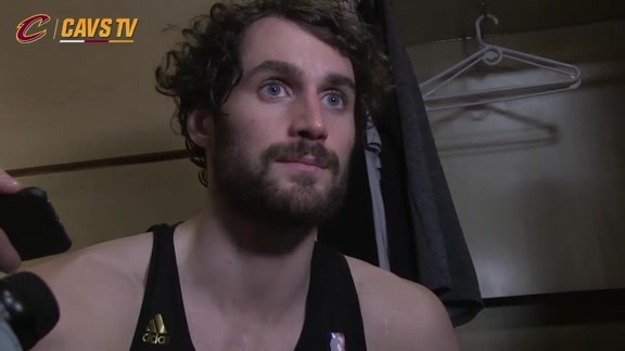 Postgame: Kevin Love - February 8, 2016