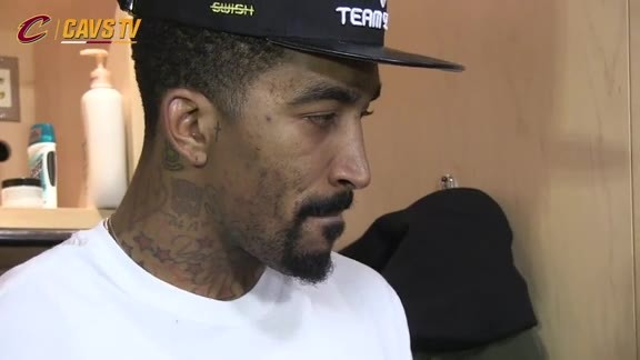 Postgame: J.R. Smith - February 8, 2016