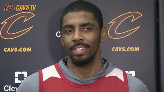 Practice: Kyrie Irving - February 9, 2016