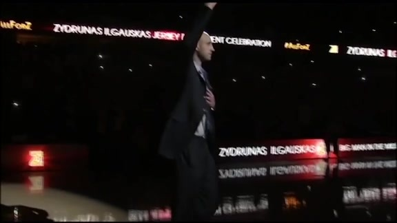 Z Jersey Retirement Halftime Ceremony (Part 1)
