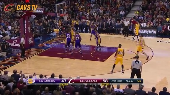 Tristan with the Strong Putback - February 10, 2016