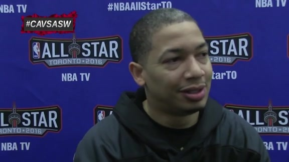 East All-Star Practice: Coach Lue – February 13, 2016