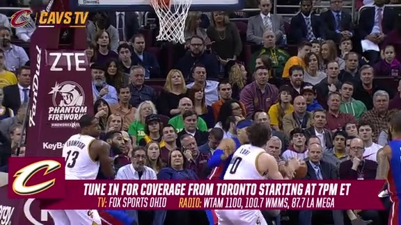 CavsTV 1-on-1 with Kevin Love – February 26, 2016