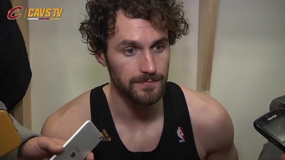 Postgame: Kevin Love - February 26, 2016