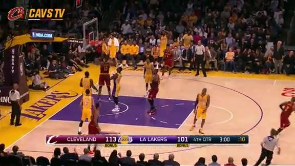 Irving with the Great Find to Thompson - March 10, 2016