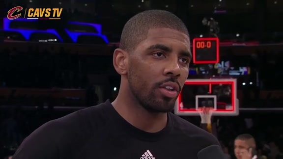 On-Court Postgame: Kyrie Irving - March 10, 2016