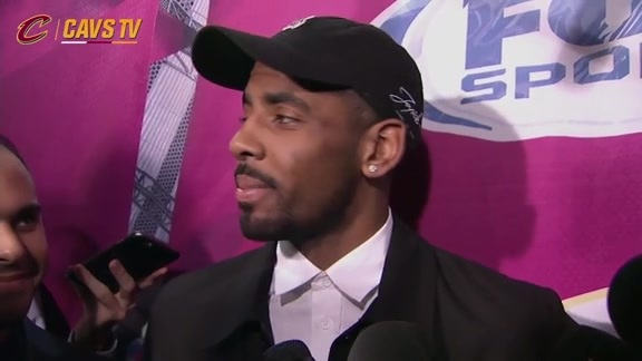 Postgame: Kyrie Irving – March 10, 2016