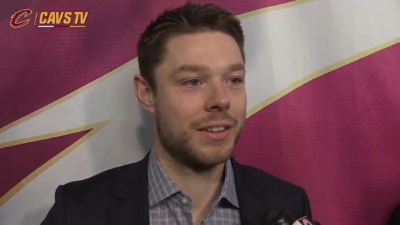 Game 4 Postgame: Matthew Dellavedova - April 24, 2016