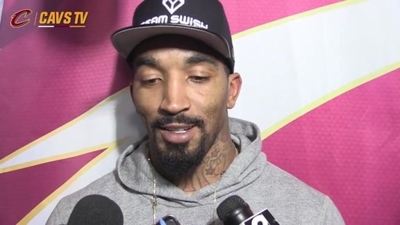 Game 4 Postgame: J.R. Smith - April 24, 2016
