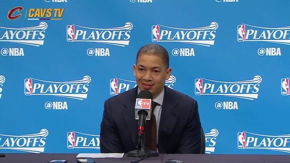 Game 4 Postgame: Coach Lue - April 24, 2016
