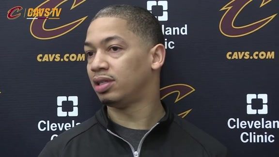 Practice: Coach Lue - April 27, 2016