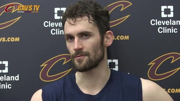 Practice: Kevin Love - April 28, 2016