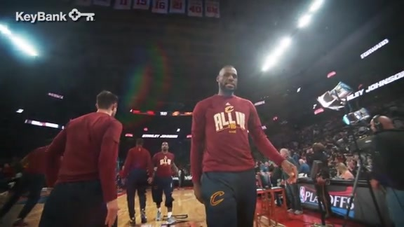 CavsTV Hype Video for Game 1 vs. Atlanta