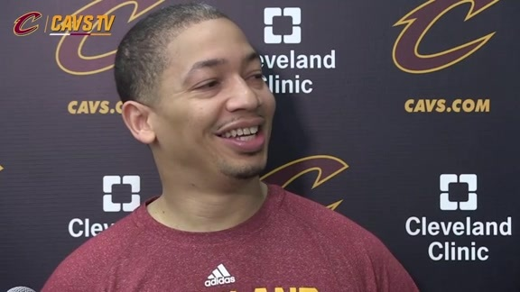 Practice: Coach Lue - May 1, 2016