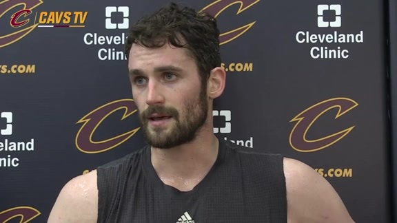 Shootaround: Kevin Love – May 2, 2016