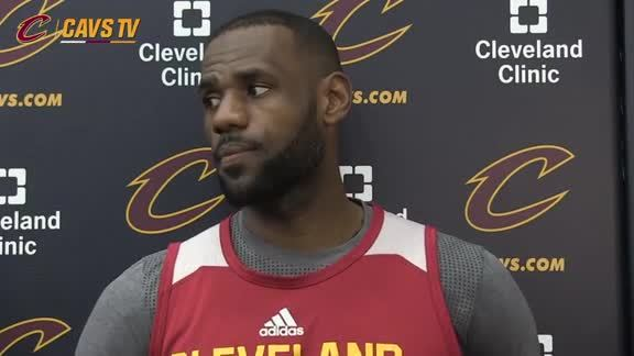 Shootaround: LeBron James – May 2, 2016