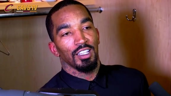 Game 1 Postgame: J.R. Smith - May 2, 2016