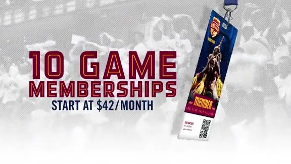 Get Your 10 Game Membership Today! Starting at $42 a Month!