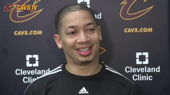 Practice: Coach Lue - May 3, 2016