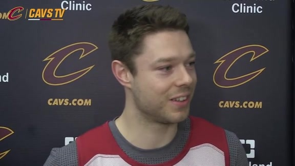 Practice: Matthew Dellavedova - May 3, 2016