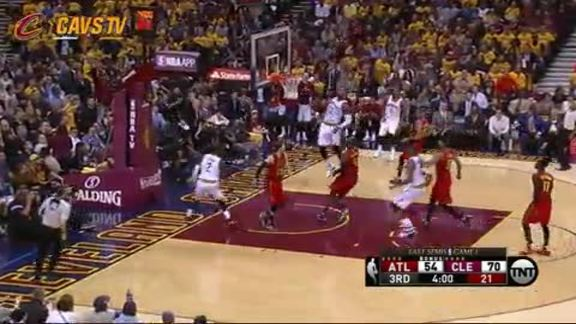 LeBron Rocks the Rim - May 2, 2016