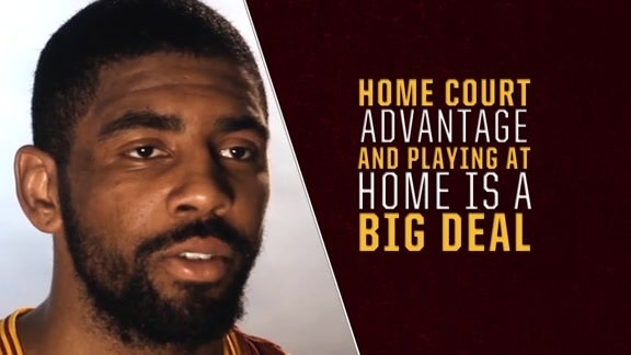 Cavs Talk Home Court Advantage
