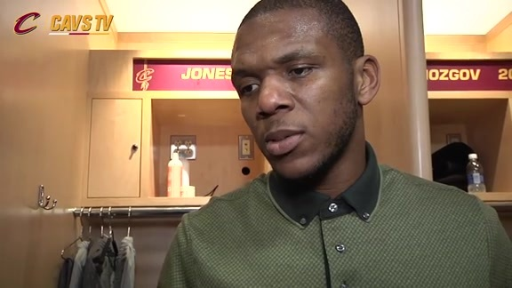 Game 2 Postgame: James Jones - May 4, 2016
