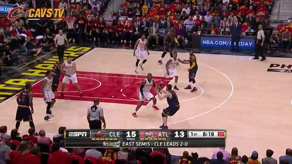 Cavs Go On 10-0 Run to Gain Lead - May 6, 2016