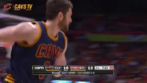 Cavs Continue Hot Shooting From Downtown - May 6, 2016