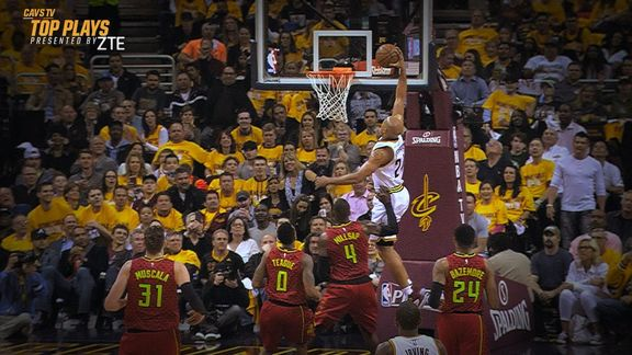 CavsTV Top Plays From Round Two vs. Atlanta