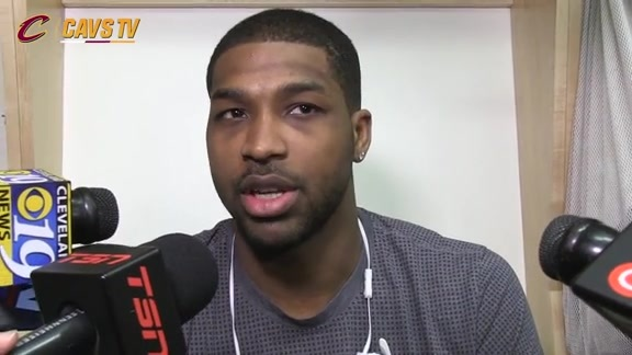Game 4 Shootaround: Tristan Thompson - May 23, 2016