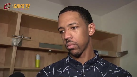 Game 4 Postgame: Channing Frye - May 23, 2016