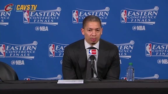 Game 4 Postgame: Coach Lue - May 23, 2016
