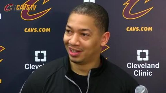 Practice: Coach Lue - May 24, 2016