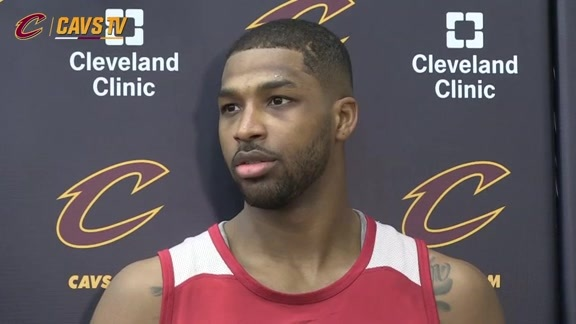 Game 5 Shootaround: Tristan Thompson - May 25, 2016