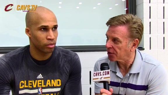 CavsTV 1-on-1 with Richard Jefferson – May 25, 2016