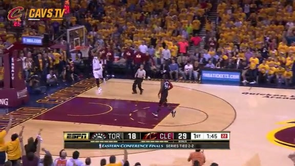 J.R. with the Breakaway Dunk - May 25, 2016