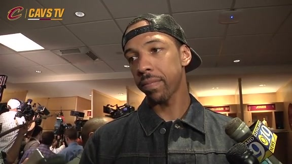 Game 5 Postgame: Channing Frye - May 25, 2016