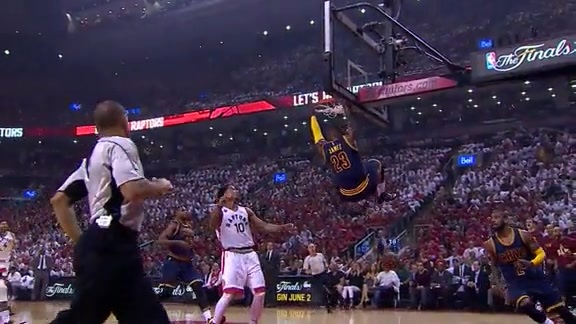 Kyrie Lobs LeBron - May 27, 2016
