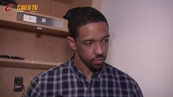 Game 6 Postgame: Channing Frye - May 27, 2016