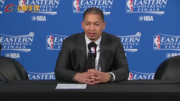 Game 6 Postgame: Coach Lue - May 27, 2016