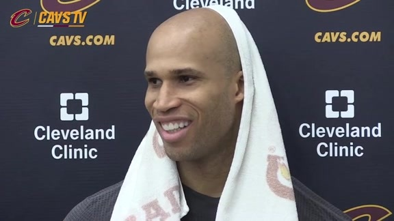 Practice: Richard Jefferson - May 30, 2016