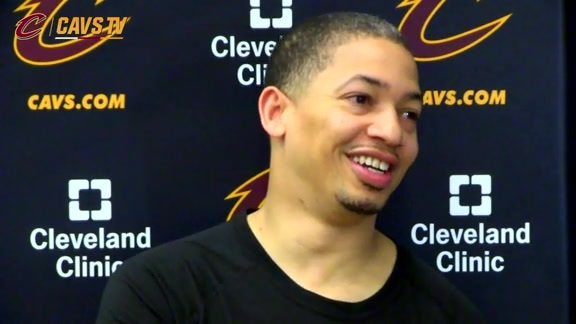 Practice: Coach Lue - May 30, 2016