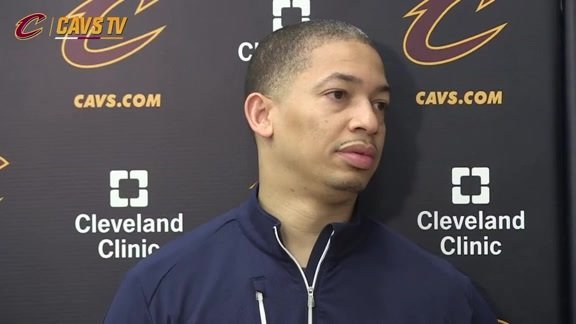 Practice: Coach Lue - May 31, 2016