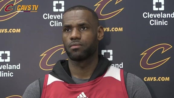 Practice: LeBron James - May 31, 2016