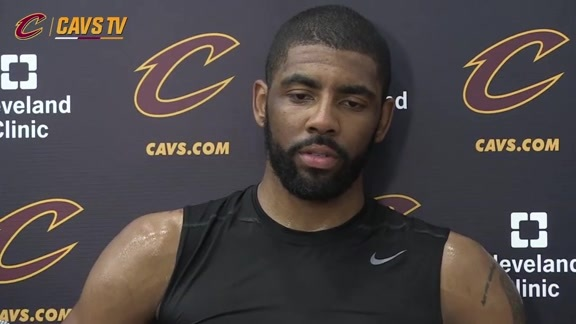 Practice: Kyrie Irving - May 31, 2016