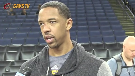 Finals Media Availability: Channing Frye - June 3, 2016