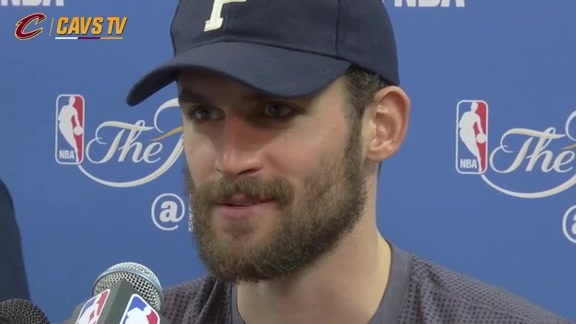 Finals Media Availability: Kevin Love - June 3, 2016
