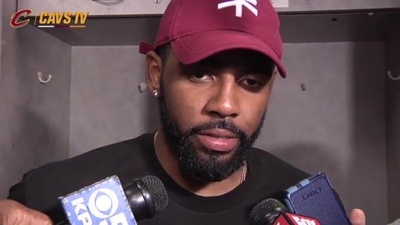 Game 2 Postgame: Kyrie Irving - June 5, 2016