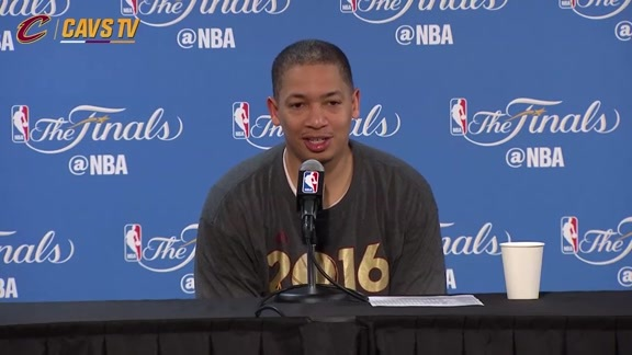 Game 7 Postgame: Coach Lue - June 19, 2016